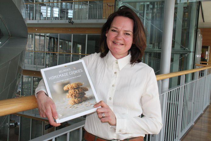 Belinda stelt haar eerste boek voor: 'Belinda's homemade cookies'