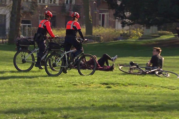 De politie vraagt duidelijke en concrete regeles, zoals in Frankrijk. Beeld VTM