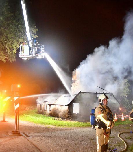 Twee keer brand in één week in leegstaande woning in Acquoy; nu echt niet meer te redden