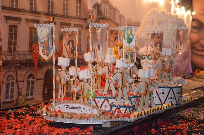 Miniatuurstoet carnaval Ninove 2021 - carnavalsgroep Pretensje 2.0.
