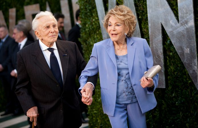 Kirk et Anne Douglas en 2012.