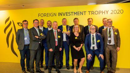 Toekomstig chocolademagazijn Callebaut wint trofee voor beste buitenlandse investering