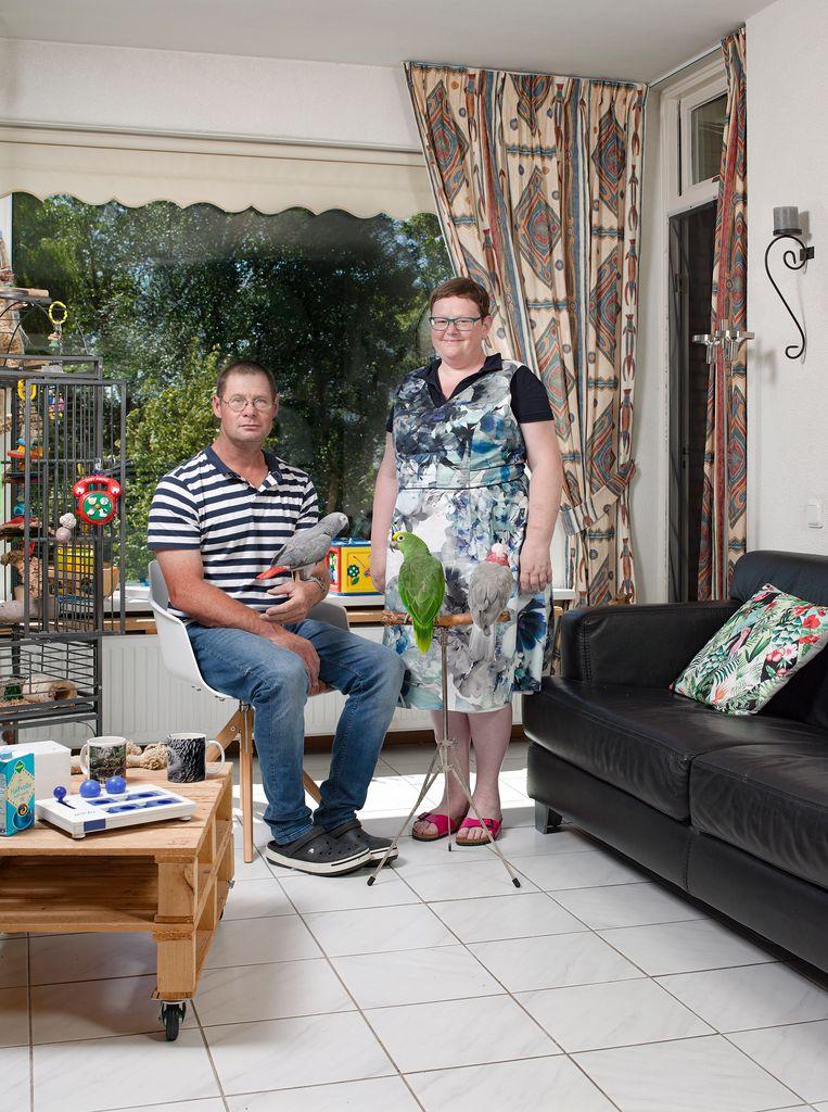 Marco van de Bunt en vrouw Roos Beeld Bram Tackenberg