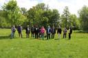 De eerste Baljuwbabbels werden georganiseerd met de partners van de tuin.