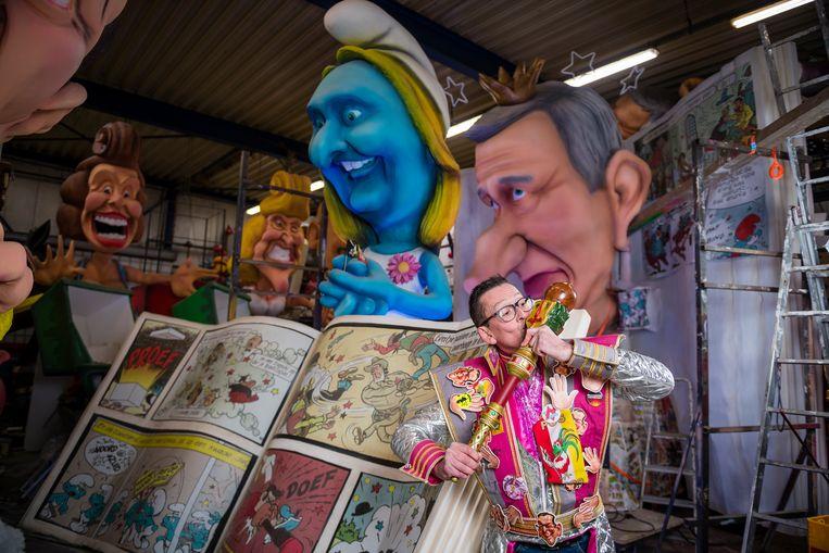 Yvan De Boitselier, Prins Carnaval 2020. Beeld Gregory Van Gansen / Photo News