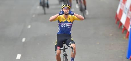 Dumoulin verliest een minuut in zware openingsrit Vuelta, Roglic grijpt eerste rode trui