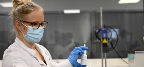 Un spray nasal contre la Covid-19 va être produit à Charleroi