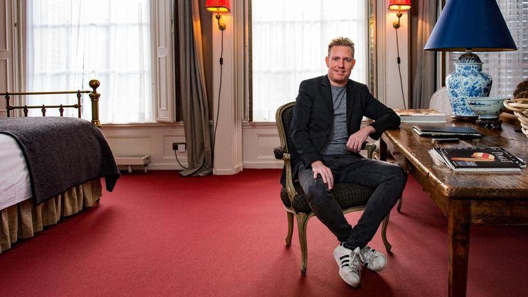 Vincent van Dijk ziet Soho House graag opdoemen in de Spuistraat. Beeld Marijke Stroucken