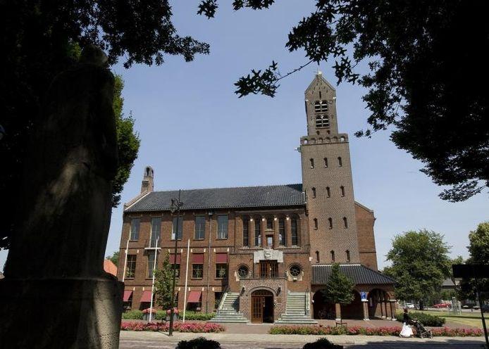 Het raadhuis in Winterswijk, onderkomen van het Grensland College.
