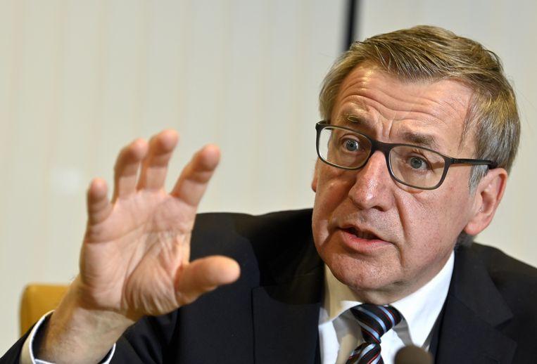 Steven Vanackere, vicegouverneur van de Nationale Bank van België en ex-minister van Buitenlandse Zaken: 'Adembenemend.' Beeld BELGA