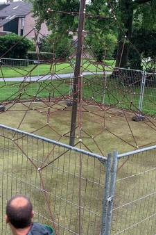 Vijfheerenlanden plaatst hekken om onveilig klimtoestel: deze vakantie niet meer te gebruiken