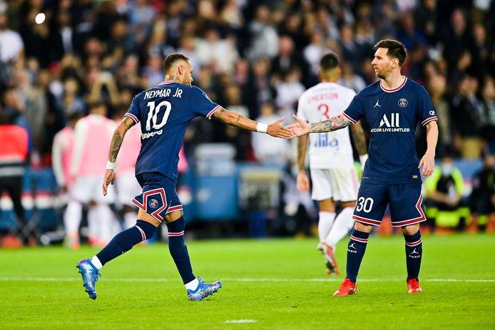 Neymar en Lionel Messi.