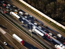 File op A20 na ongeval bij Rotterdam-Noord: weg inmiddels weer vrij
