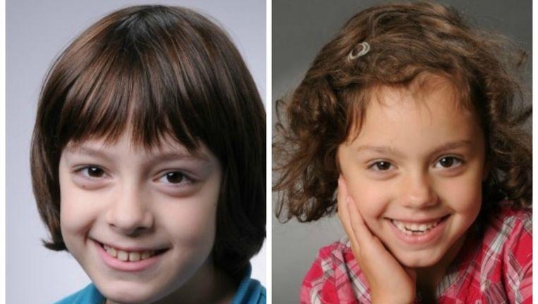 Luca en Aysha O. werden door hun moeder meegenomen naar IS-gebied in Syrië. Beeld Politie.nl