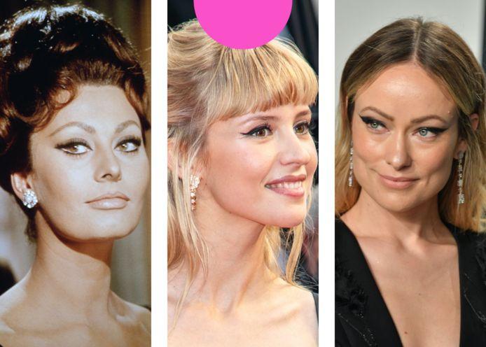 v.l.n.r.: Sophia Loren, Angèle, Olivia Wilde