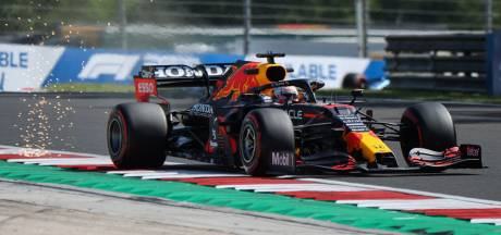 Mopperende Verstappen achter Bottas en Hamilton in Hongaarse hitte