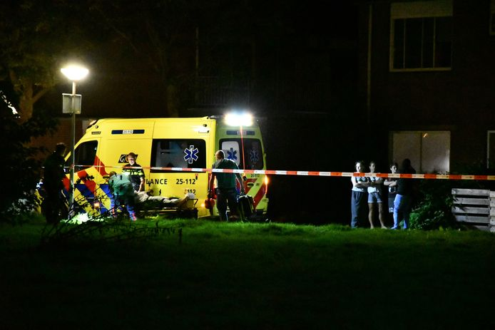 Nadat de man in zijn been was geschoten, werd hij aangehouden en naar het ziekenhuis gebracht.