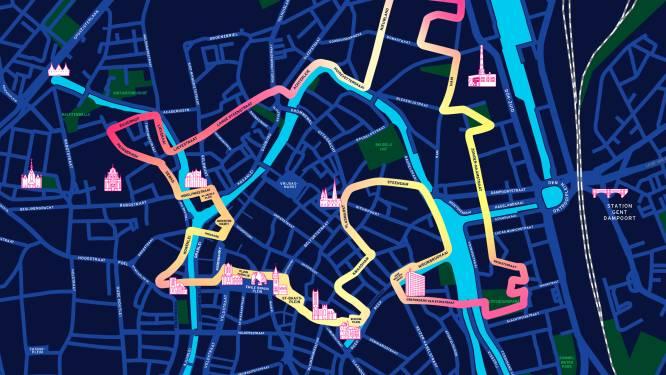 Route Lichtfestival november bekend. 700 meter langer dan eerst voorzien, voor extra spreiding