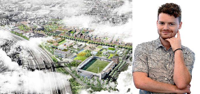 Niet zo gek dat het project Stadsoevers voor een groot deel op Tilburg geïnspireerd is, vindt Freek Verhulst.