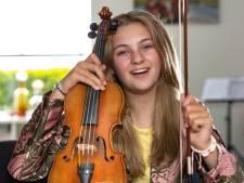 Bente (12) uit Genemuiden maakt met viool indruk bij The Voice Kids: 'Het was eigenlijk een grap'