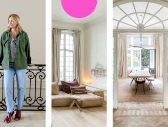 """""""Weinig kale hoekjes, en toch is het geheel niet chaotisch"""": ontwerpster Melanie Ireland toont het interieur van haar riante meesterwoning"""