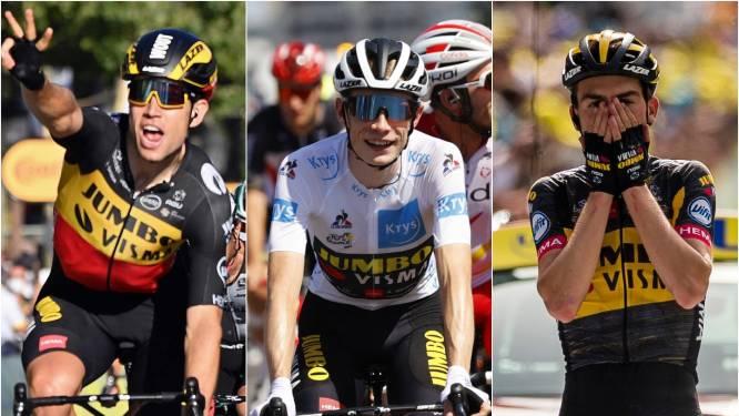 Jumbo-Visma vertrekt met grote grijns: 'Volgend jaar komen we terug om de Tour te winnen'