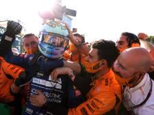 Ricciardo straalt van geluk in Monza: 'Ik voelde dat dit eraan zat te komen'