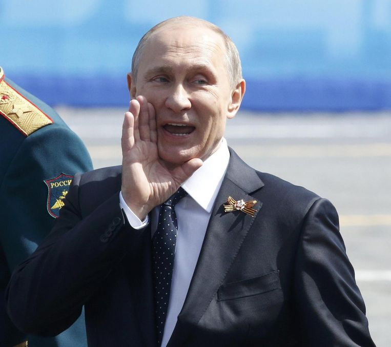 Vladimir Poetin. Beeld rv