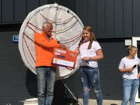 Actie Romy's Healthy Fest levert bijna 10.000 euro op voor Kika