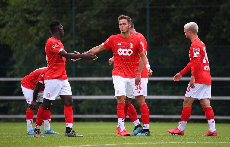 Zinho Vanheusden van Standard.