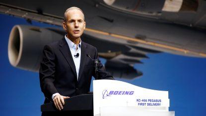"""Boeing-topman: """"737 MAX-toestellen opnieuw laten vliegen kan 'gradueel' gebeuren"""""""