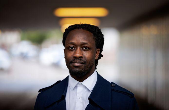 De Amsterdams-Ghanese rapper Akwasi Owusu Ansah (32).