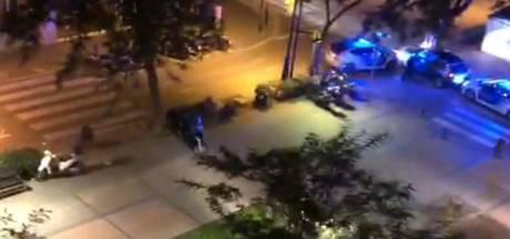 Automobilist onder invloed van cocaïne probeert aan vijf politiewagens te ontkomen