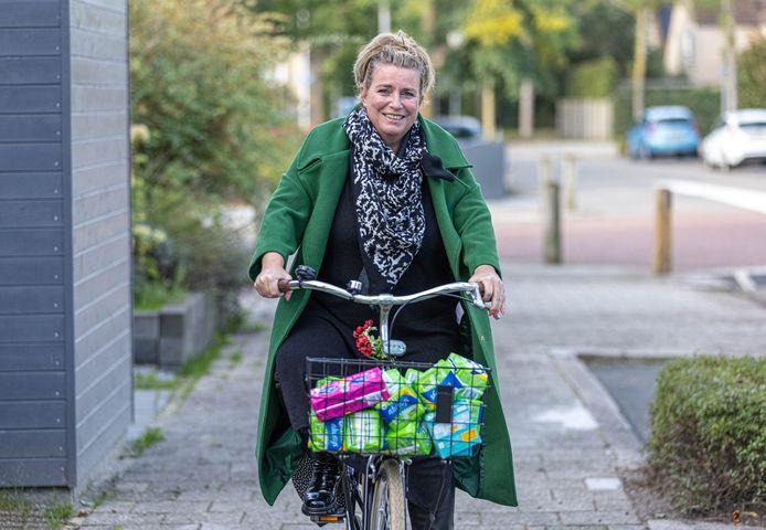Karin ter Horst zet zich in voor de beschikbaarheid van menstruatieproducten voor iedereen.