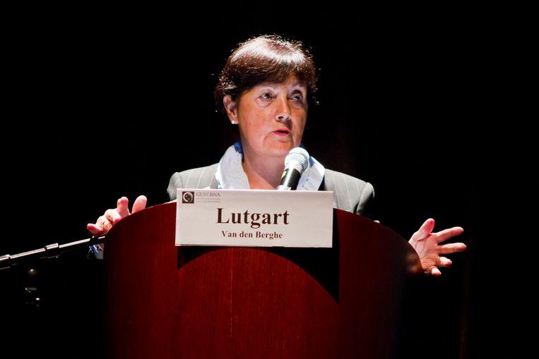 Professor Lutgart Van Den Berghe: 'Vrouwen zijn meer risico-avers en hebben meer oog voor de lange termijn.' Beeld BELGA
