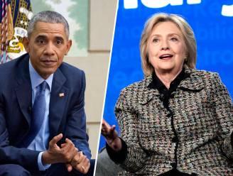 """Obama: """"Geweld aan Capitool was schande, maar geen verrassing"""" - Clinton: """"Dit was binnenlands terrorisme"""""""