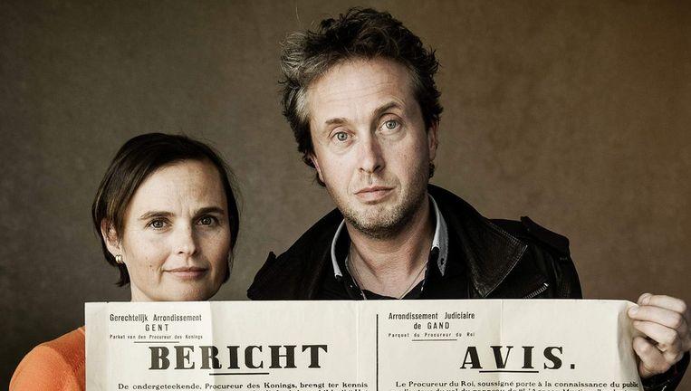 Caroline Dewitte en Jan De Kesel Beeld Eric De Mildt