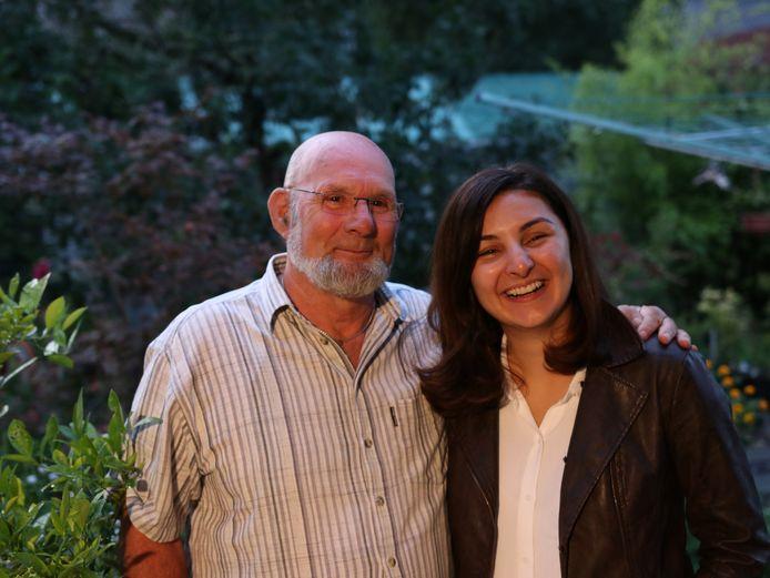 Egbert van Dijk en Mevan Babakar ontmoeten elkaar na 24 jaar weer.