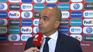 """Roberto Martínez: """"Ben de enige schuldige voor die slechte eerste helft"""""""