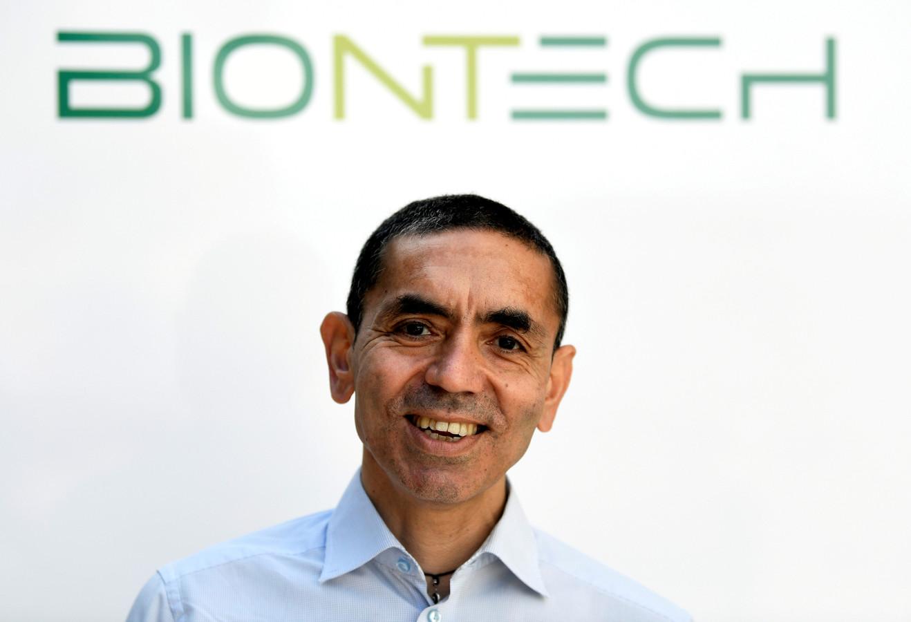 Ugur Sahin, CEO et co-fondateur de l'entreprise allemande de biotechnologie, BioNTech