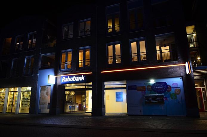 Rabobank aan de Kade in Oudenbosch, waar 334 kluisjes werden leeggeroofd in maart 2018.