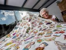 Amalia (80) uit Beusichem maakt quilts: 'Het geeft me enorme rust'