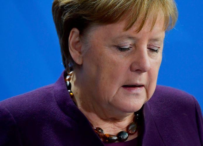 Bondskanselier Angela Merkel.