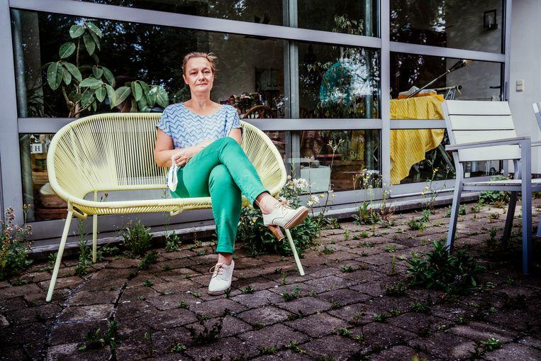 Erika Vlieghe: 'Naar mijn gevoel was vooral de laatste stap van die exit een probleem: de heropening van de horeca en de vergroting van de bubbel.' Beeld © Stefaan Temmerman