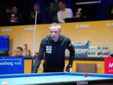 Dick Jaspers strandt in halve finale NK driebanden in Berlicum