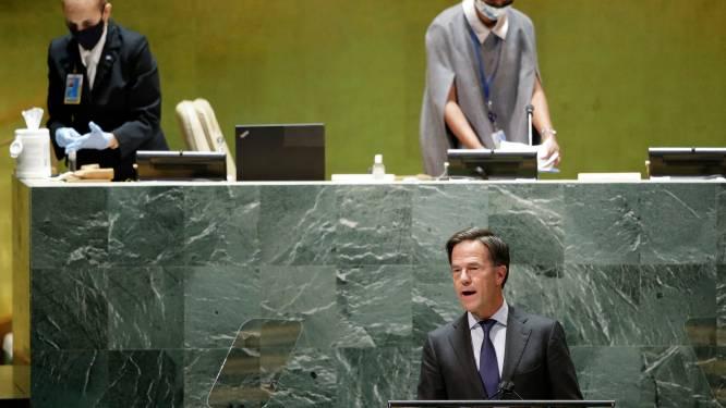 Rutte blijft ook bij VN positief: 'Laten we niet toegeven aan cynisme en fatalisme'
