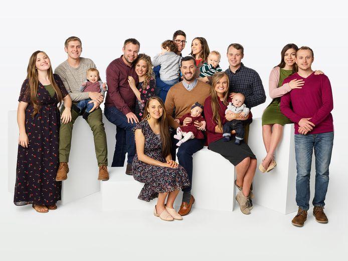 De cast van 'Counting On', zonder ma en pa Duggar en zoon Josh.
