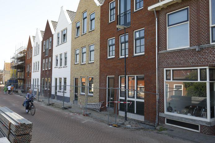 Het bouwproject aan de Noorddijk in Maassluis moet in het najaar worden opgeleverd.
