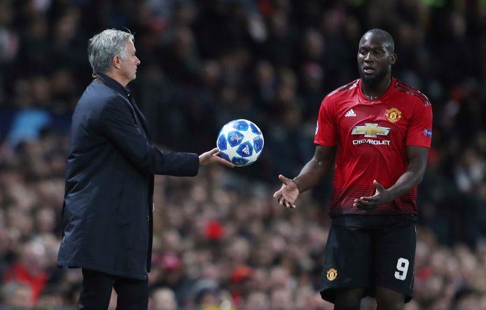 Mourinho en Lukaku werkten onder meer samen bij Man United.