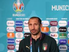 Giorgio Chiellini se sent bien à la veille de Belgique - Italie